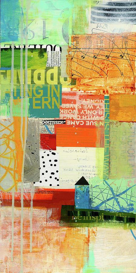 Pattern Painting - Fact Check #9 by Jane Davies