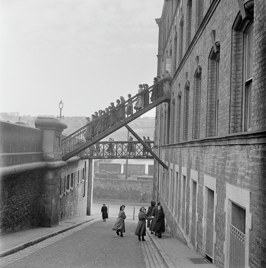 Factory In Derry Photograph by Bert Hardy
