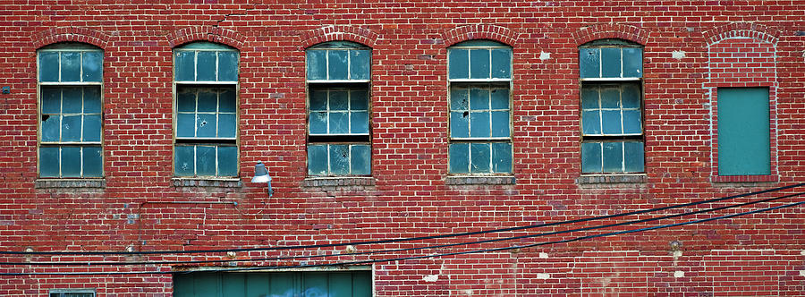 Factory Windows by Patrick M Lynch
