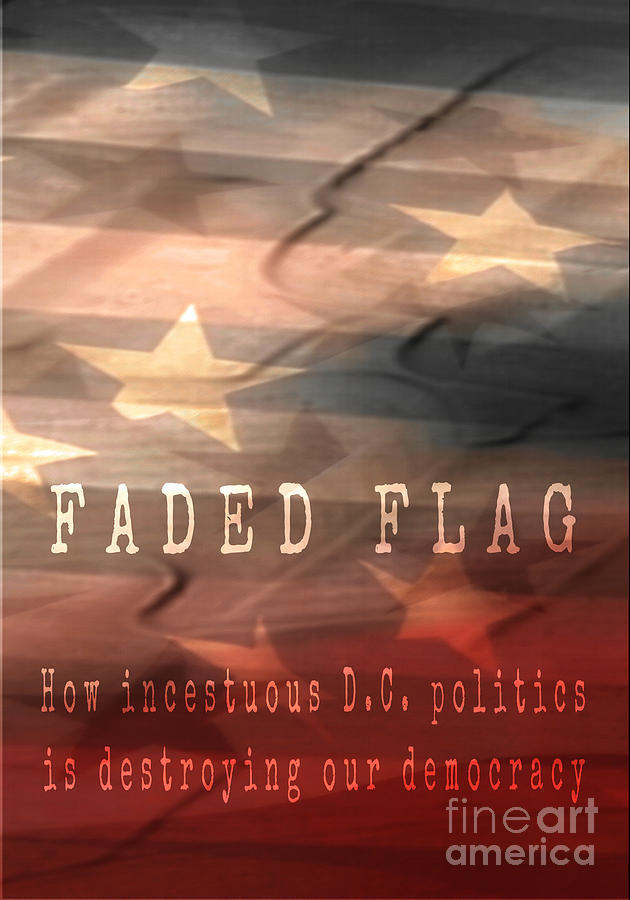 Faded Flag Book Cover 2 by Tim Richards