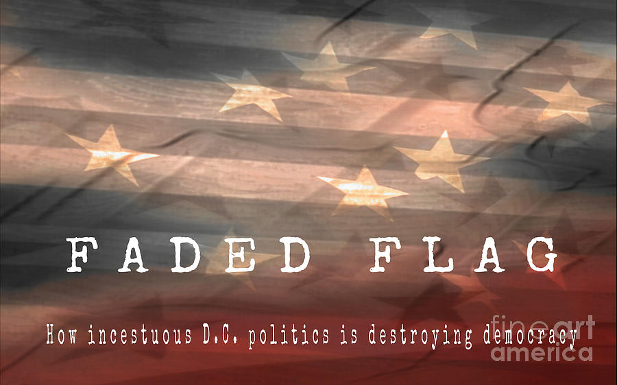 Faded Flag Book Cover by Tim Richards