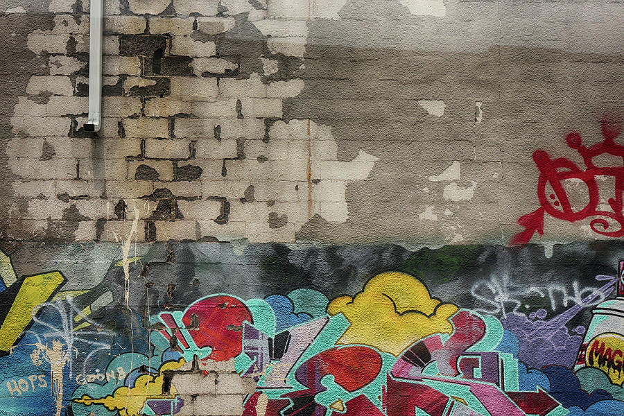 Fading Grafitti by Cate Franklyn