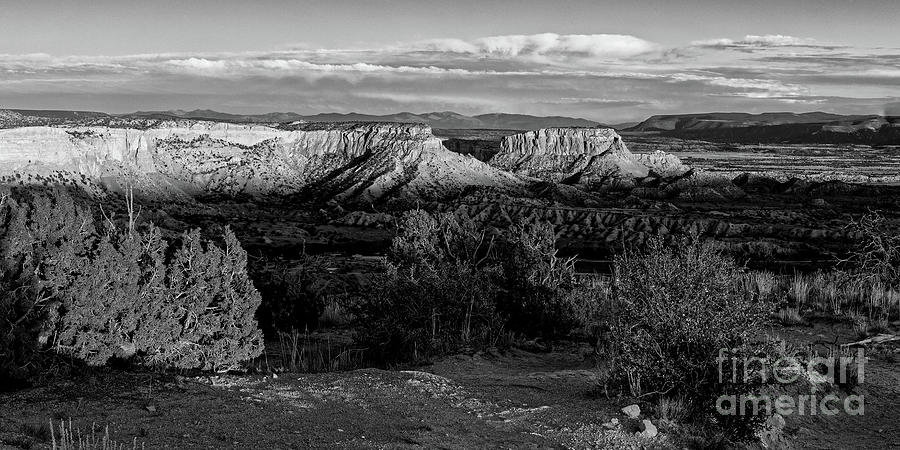 Fading Light at Ghost Ranch in Abiquiu - Rio Arriba County New Mexico Land of Enchantment by Silvio Ligutti