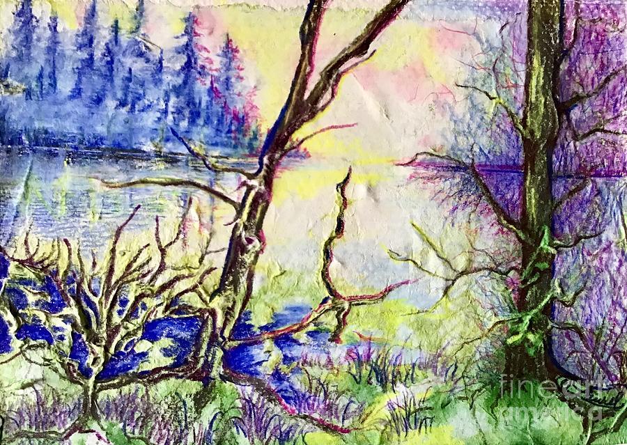 Faerieland Dawn  by Laurel Adams