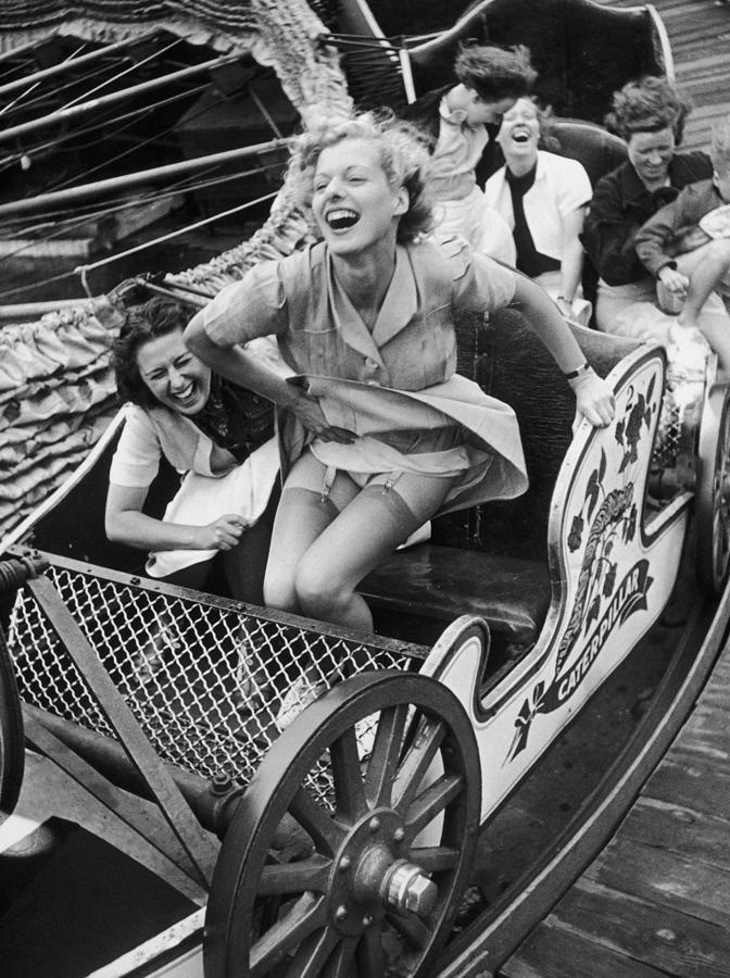 Fair Fun Photograph by Kurt Hutton