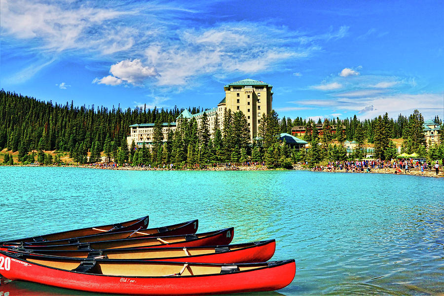 Fairmont Chateau Lake Louise by Ola Allen