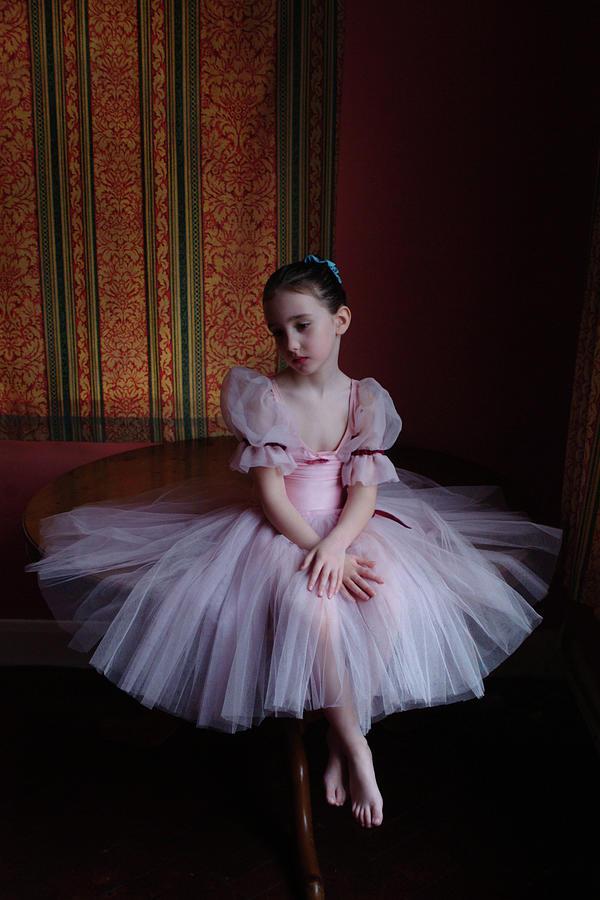 Fairy Dress Girl Photograph by Hugh Nutt