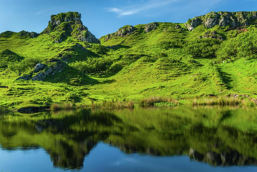 Fairy Glen Photograph - Fairy Glen, Isle of Skye by David Ross