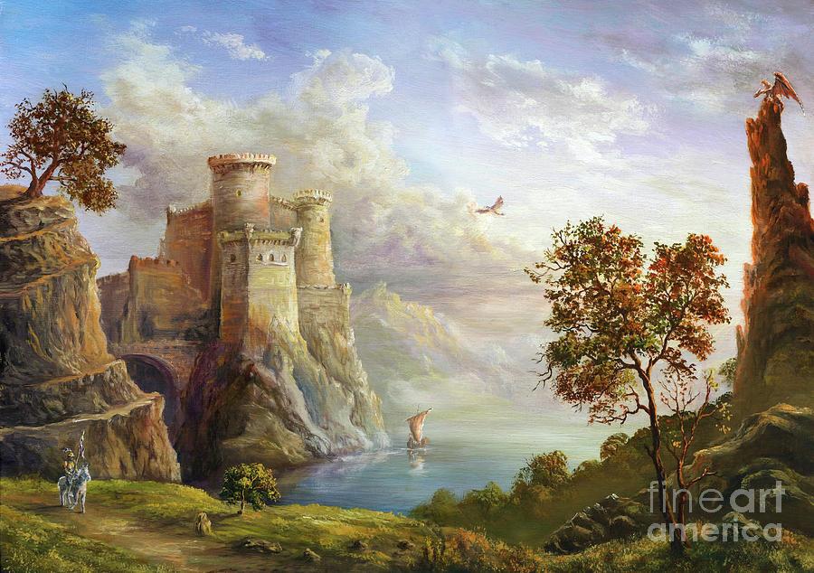 Fairy Kingdom Digital Art by Pobytov