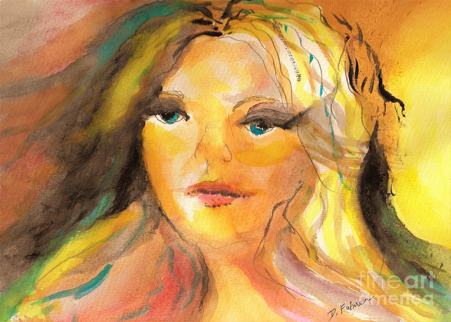 Fairy Of Gold by Denise F Fulmer