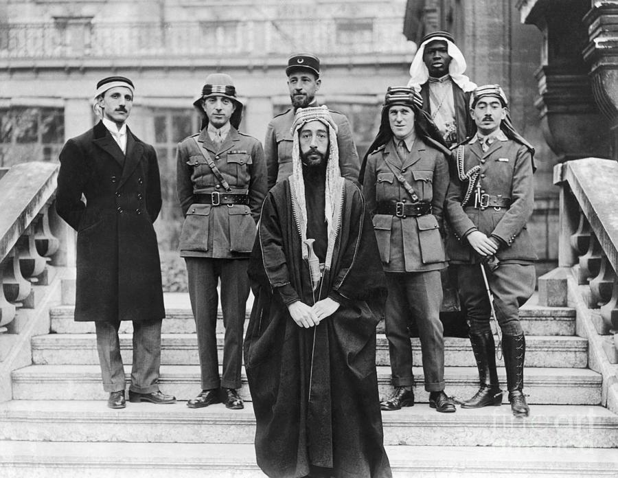 Faisal And Delegation Photograph by Bettmann