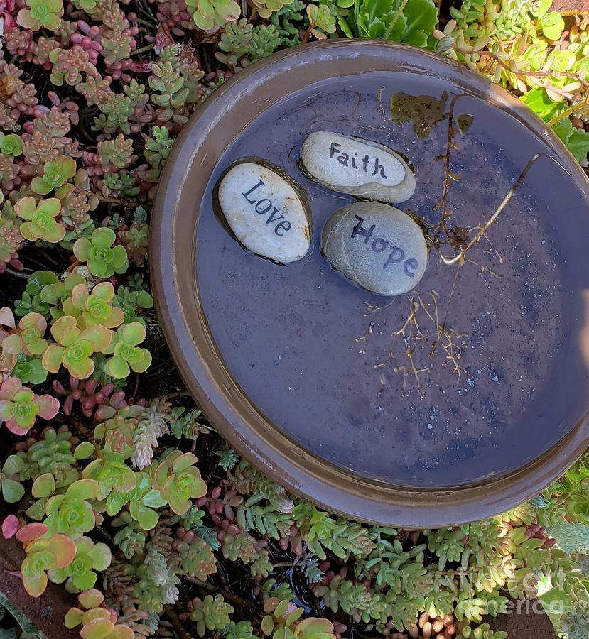 Faith, Hope and Love by LISA DEBAETS