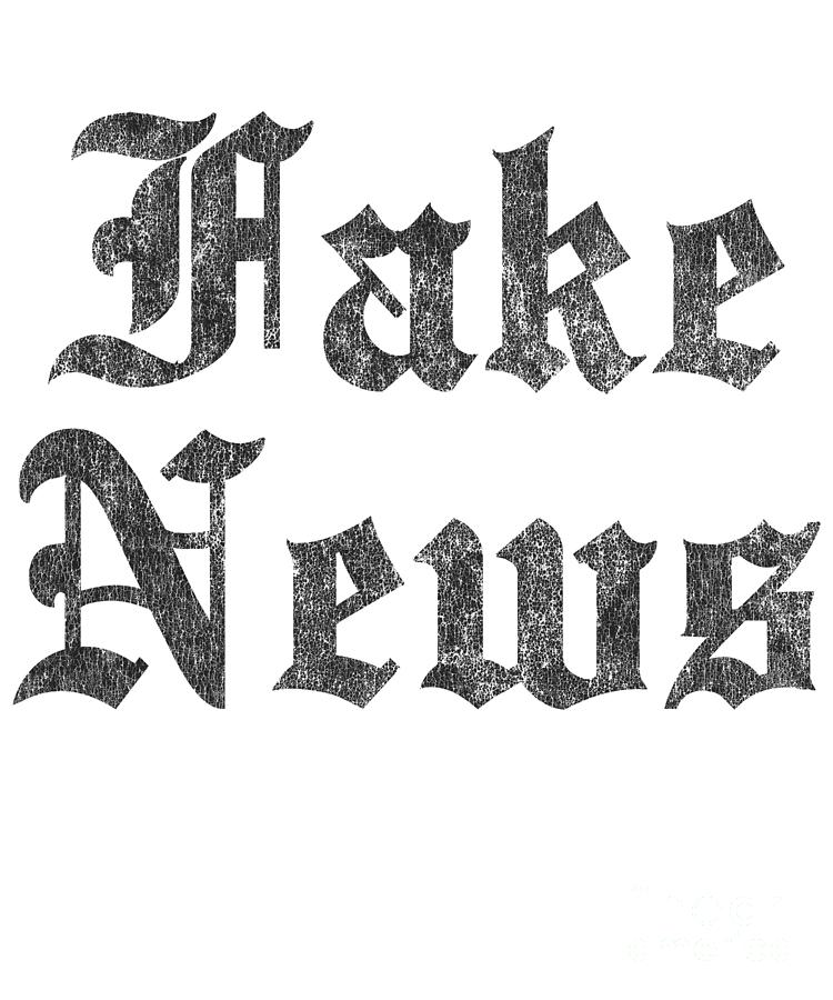 Fake News Vintage by Flippin Sweet Gear