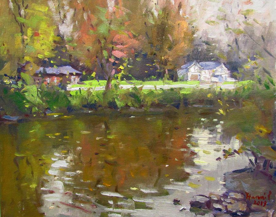 Fall at Ellicott Creek Park by Ylli Haruni