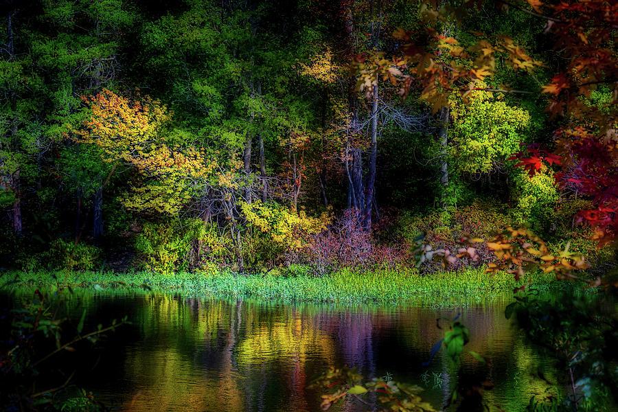 Fall at McDaniel Lake by Allin Sorenson