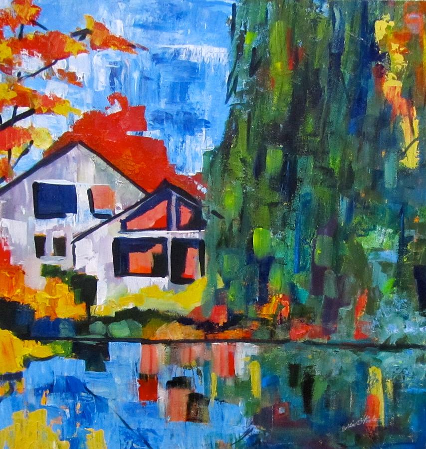 Fall at Orchard Pond by Barbara O'Toole