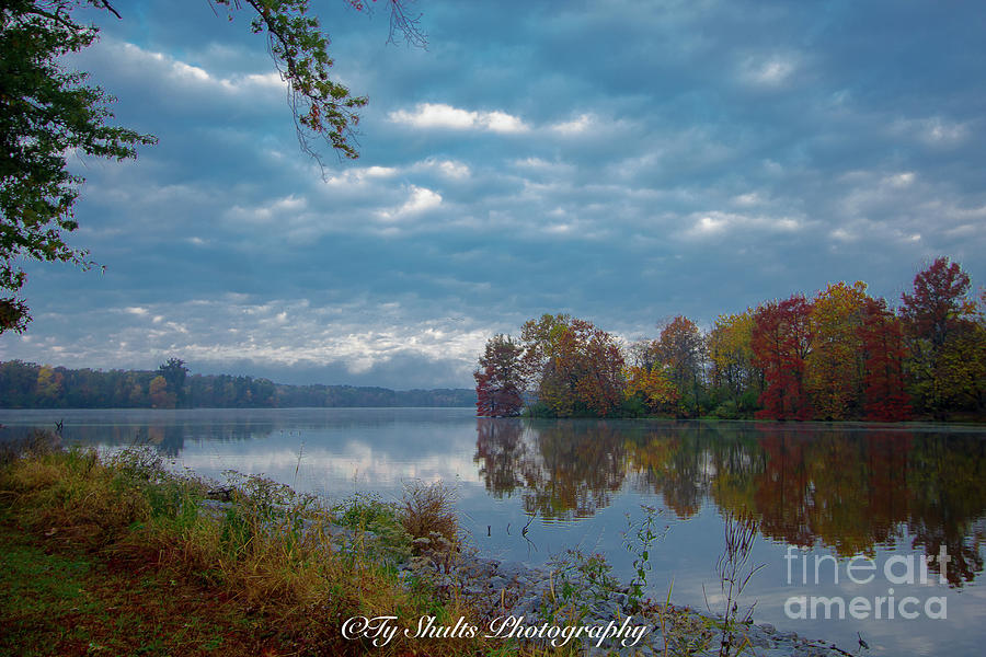 Fall at the Lake by Ty Shults