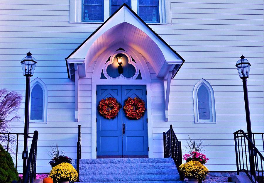 - Fall Church Door by - Theresa Nye