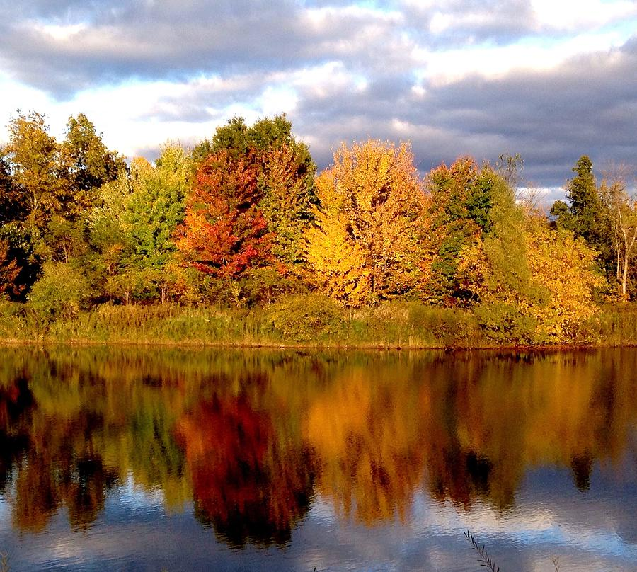 Landscape Photograph - Fall Color Blast by Marty Klar