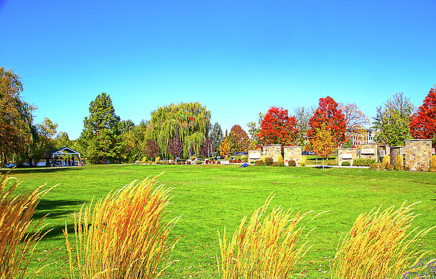 Fall Colors in Boise, Idaho by Dart and Suze Humeston