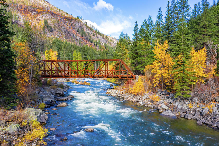 Fall Colors in Leavenworth by Mike Centioli