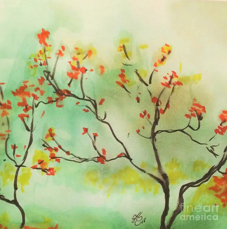 Fall colors by Jennifer Thomas