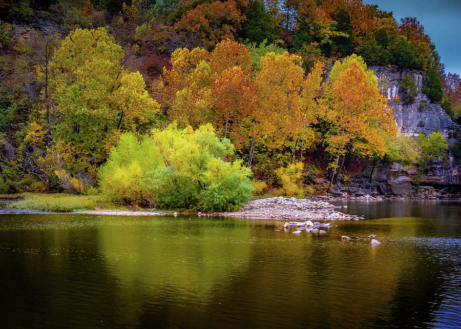 Fall Colors of the Ozarks by Allin Sorenson