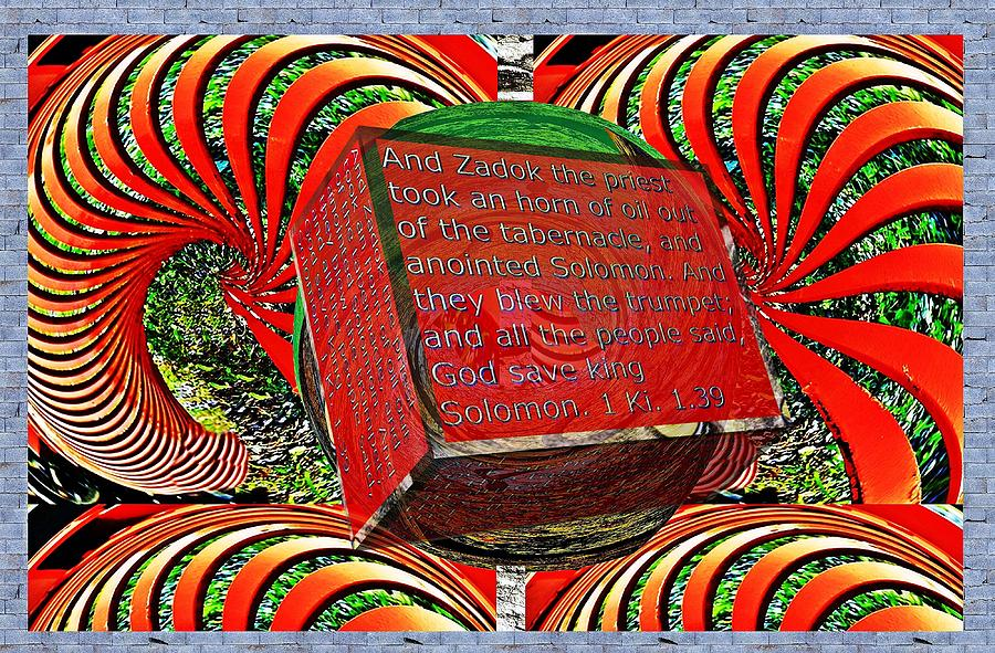 Fall colors warped box little planet as art with text as a box by Karl Rose