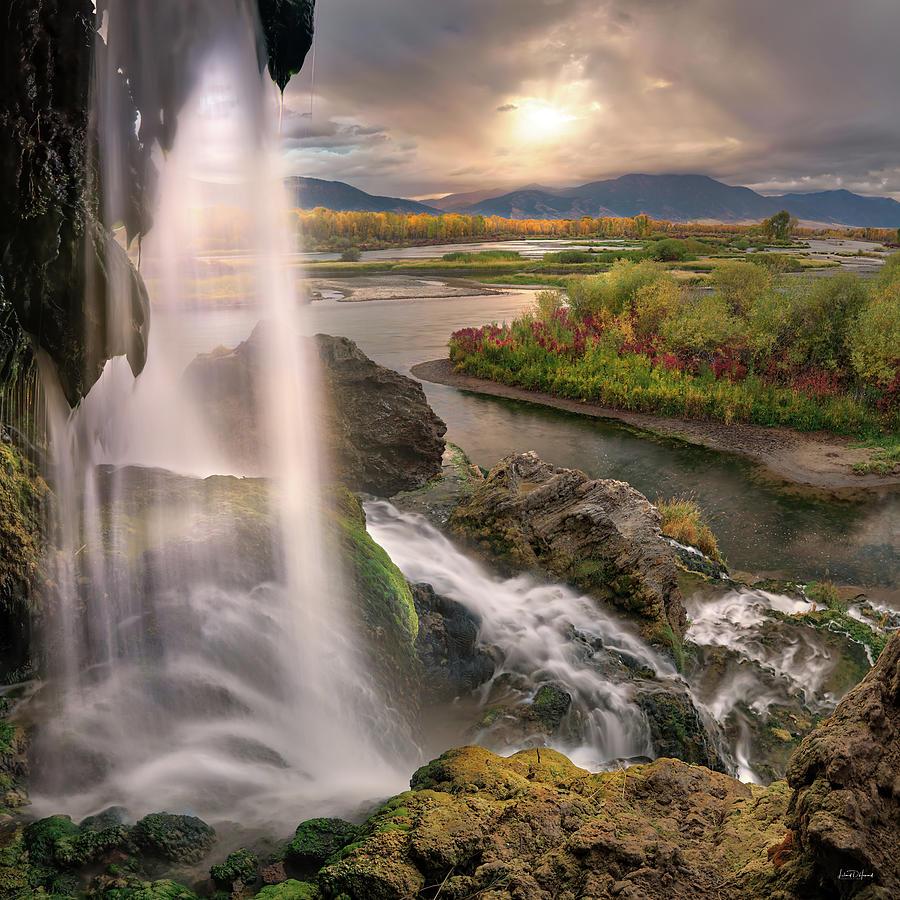 Fall Creek Falls Sunrise by Leland D Howard