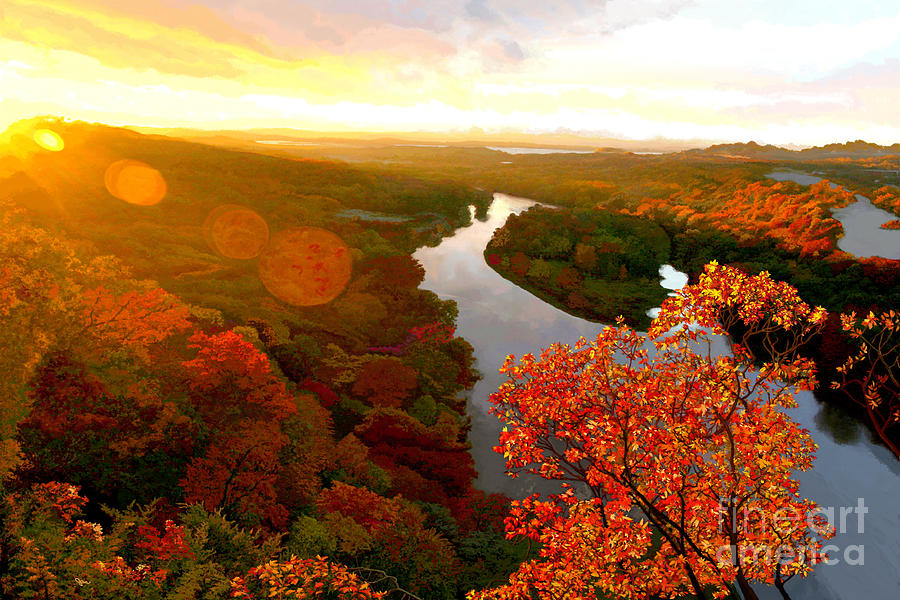 Fall Flair st River's Bend by Jackie Case