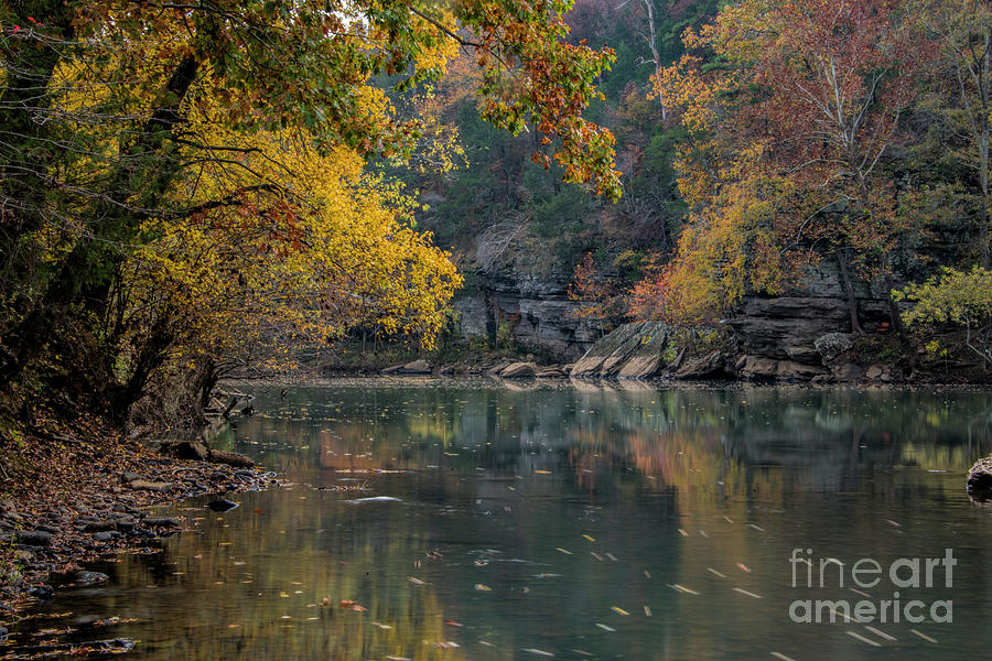Fall Photograph - Fall In Arkansas by Joe Sparks