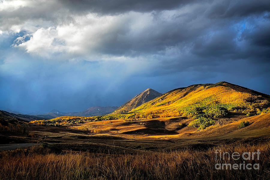 Fall in Crested Butte Colorado by Ronda Kimbrow