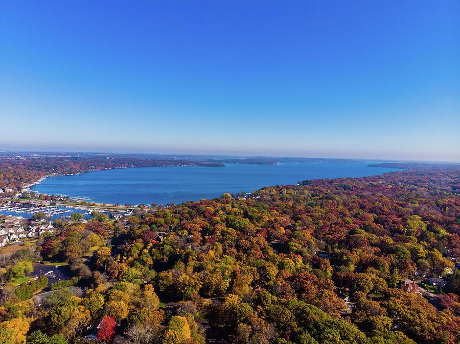 Fall in Lake Geneva, WI  by Bobby King