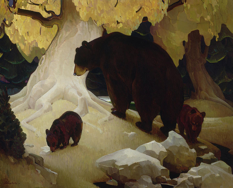 William Herbert Dunton Painting - Fall In The Foothills, 1933  by William Herbert Dunton