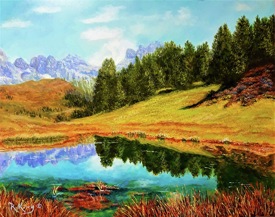 Fall in the Mountains by Roena King