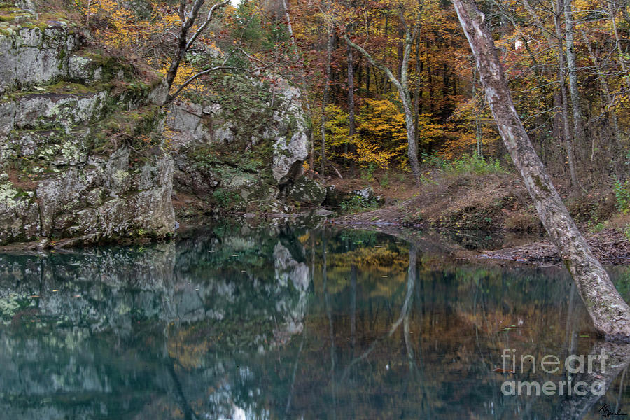 Ozarks Photograph - Fall in the Ozarks by Joe Sparks