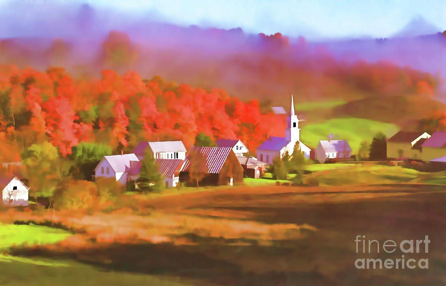 Fall In The Valley by D Hackett