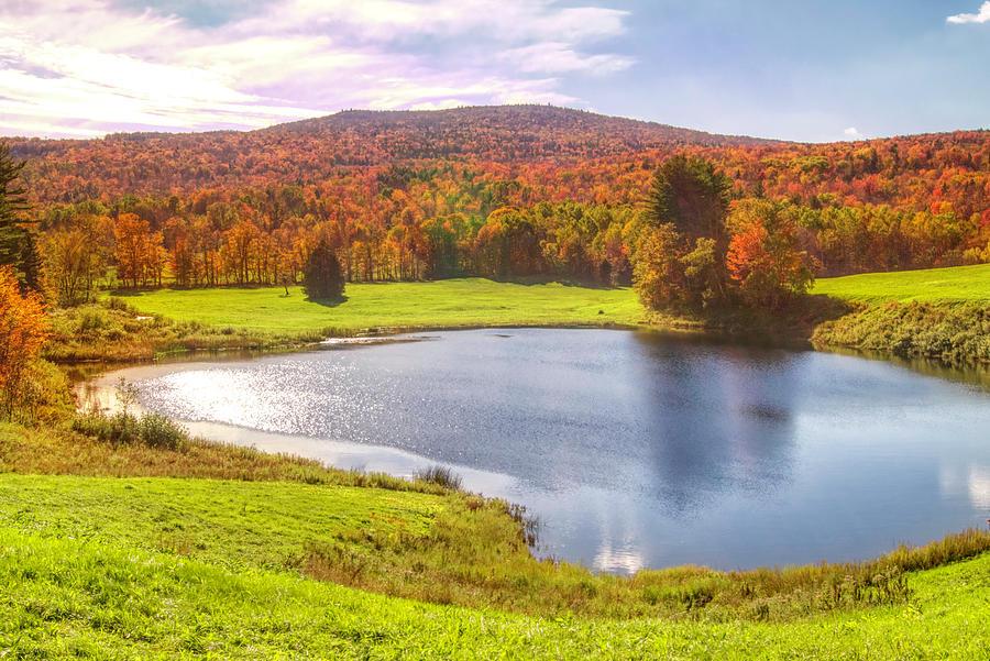 Fall in Vermont by Suguna Ganeshan