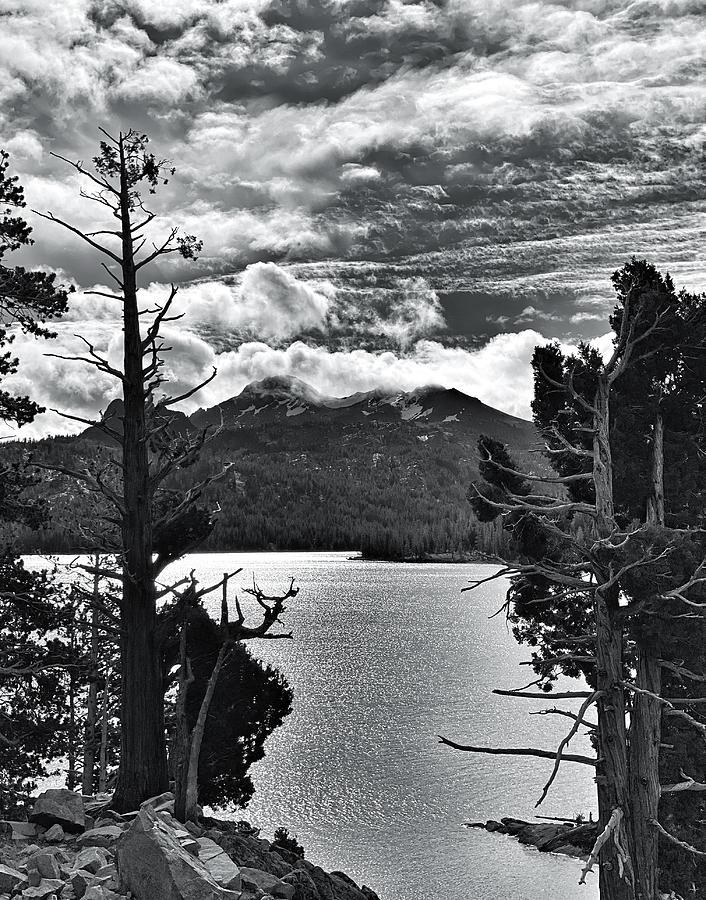 Fall Morning at Caples Lake by Steph Gabler