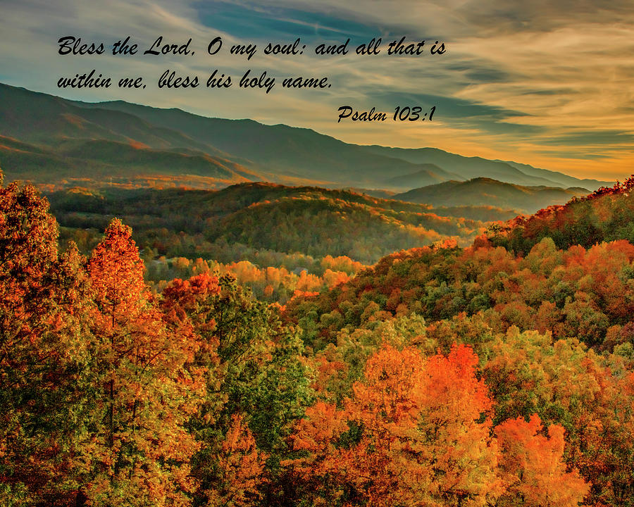 Fall Mountains Blessings by Marcy Wielfaert