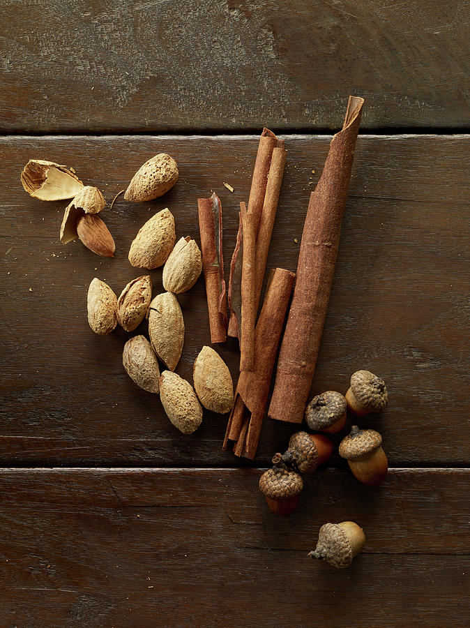 Fall Nuts And Spices Photograph by Shana Novak