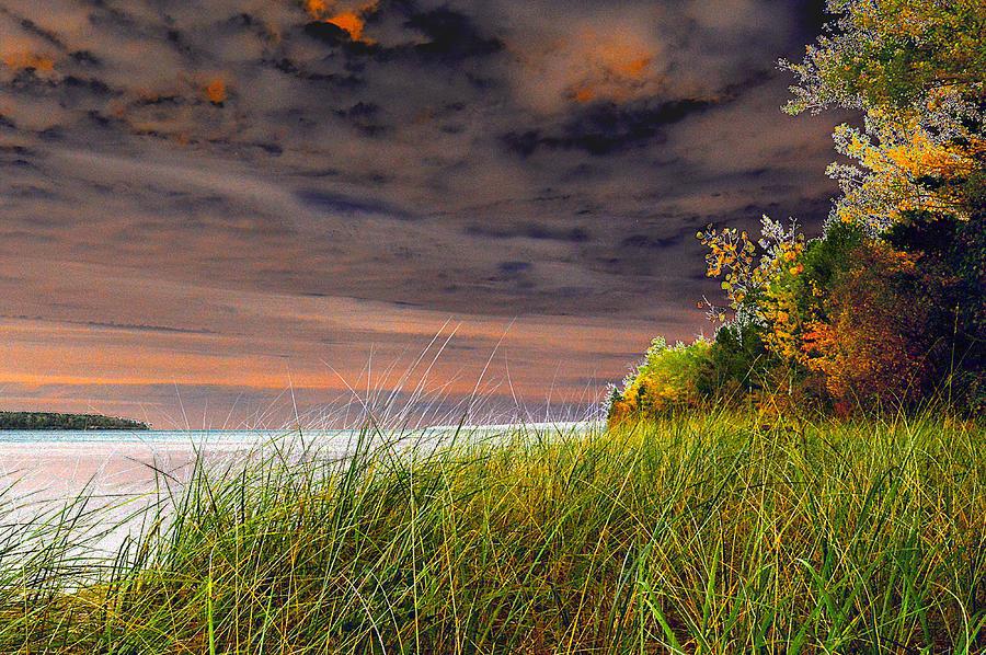 Fall On Lake Superior Photograph