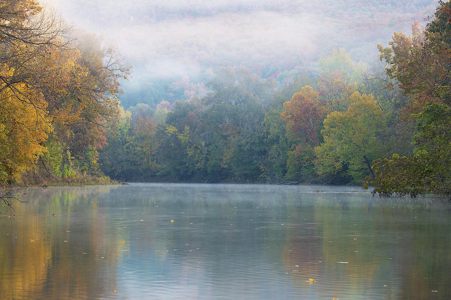 Fall on Richland Creek by Eilish Palmer