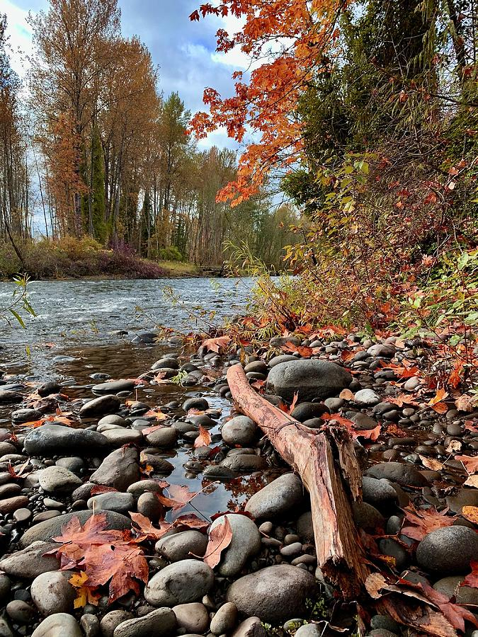 Fall On The Molalla by Brian Eberly