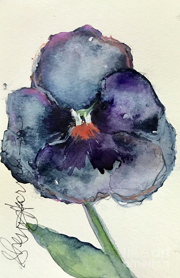 Fall Pansy  by Sherry Harradence