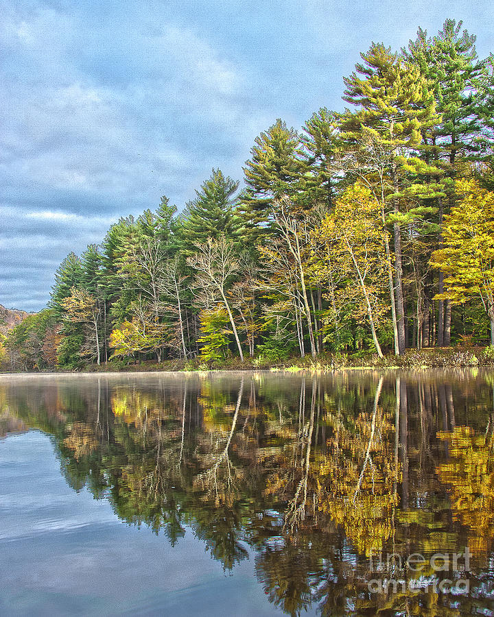 Fall Reflection by Tom Cameron