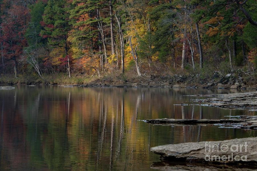 Fall Photograph - Fall Reflections by Joe Sparks