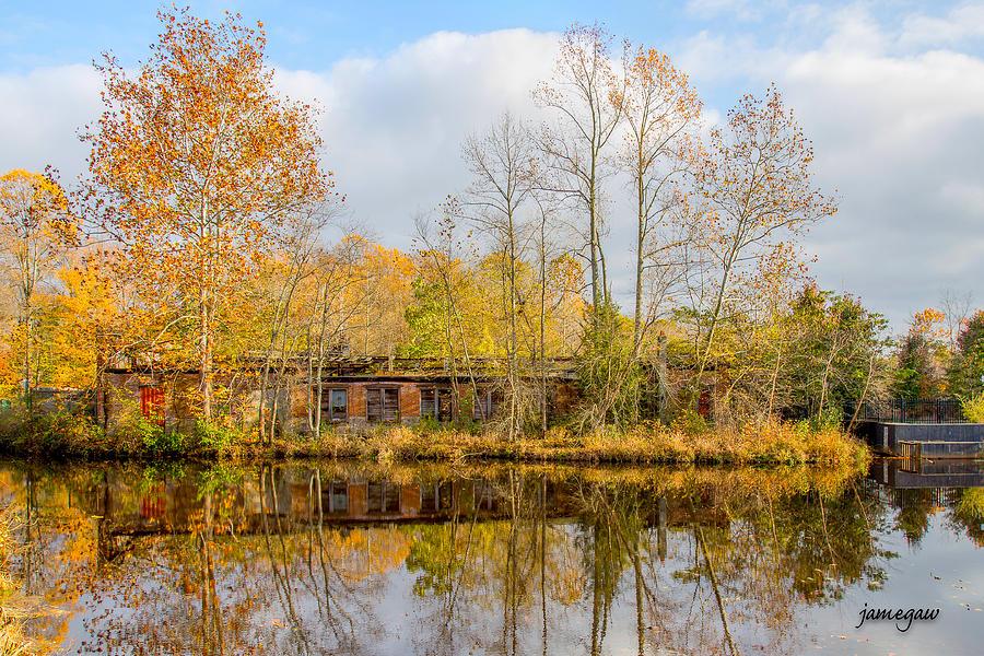 Fall Reflections  by John A Megaw