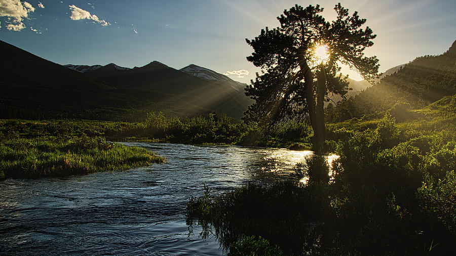 Fall River Sunset, Rocky Mountain National Park by Flying Z Photography by Zayne Diamond