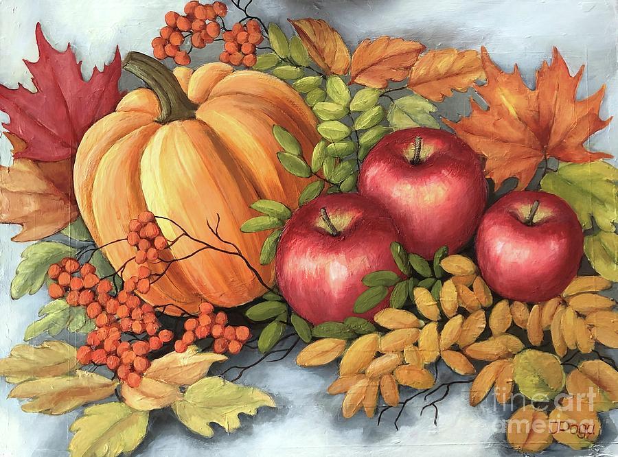 Fall still life by Inese Poga